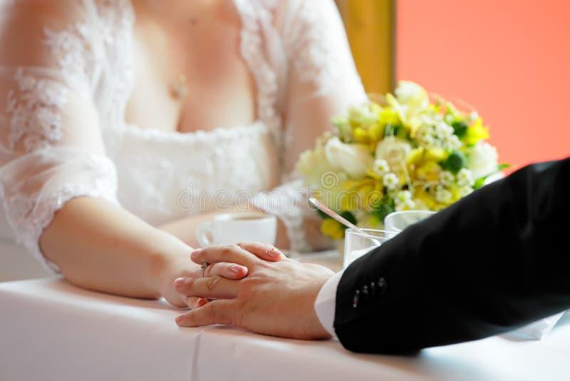 atmosfery dzień ślub obrazy stock