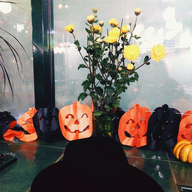 Atmosphère de Helloween foto de stock