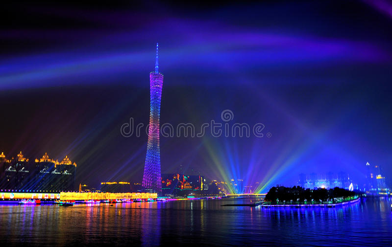 Download Atmosphere Of The 16th Asian Games Decoration Editorial Photo - Image: 17118771