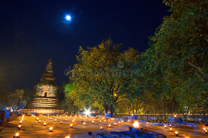 Download Atmosphere In Buddhism Day At The Temple Stock Image - Image: 33200175