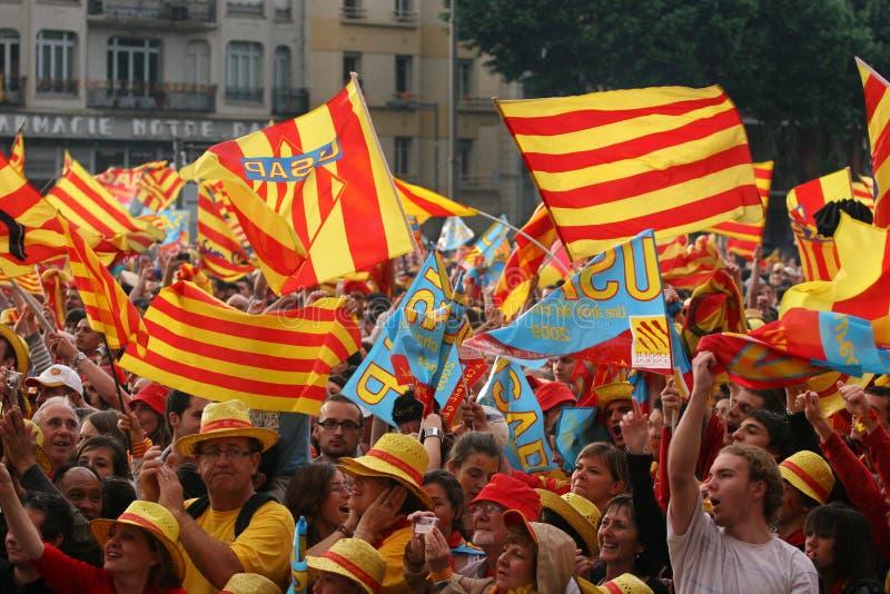 Download Atmosphere in Perpignan editorial stock image. Image of 2008 - 9705259