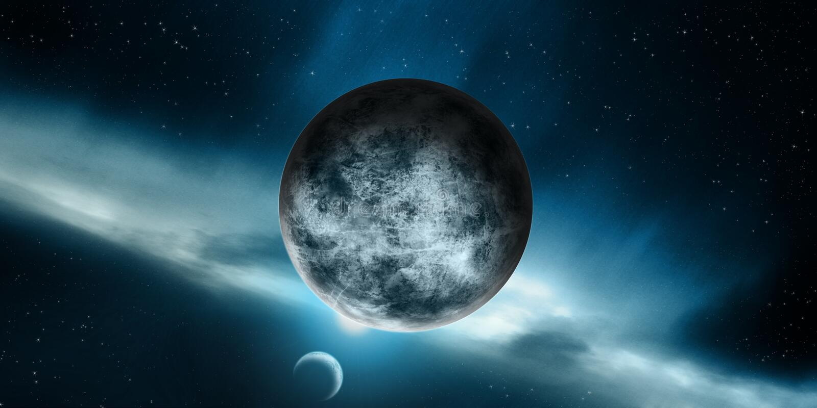 Atmosphere, Planet, Astronomical Object, Universe royalty free stock image