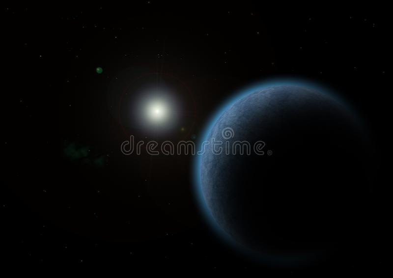 Atmosphere, Planet, Astronomical Object, Universe stock image