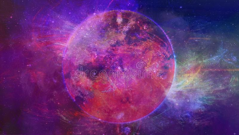 Atmosphere, Universe, Purple, Astronomical Object royalty free stock photography