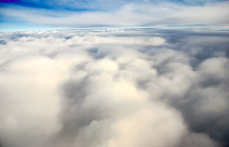 Atmospheric Cloudscape stock images