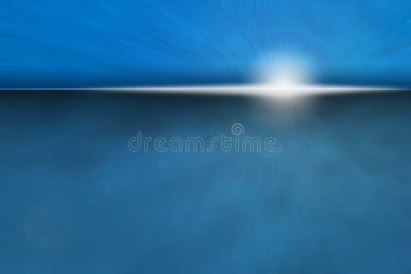 Atmospheric Ocean Sunrise Royalty Free Stock Photo