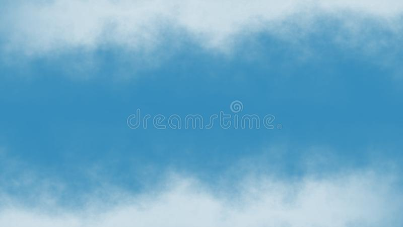 Atmospheric Smoke, Fog, cloud, smooth Movement, Modern abstract background animation 3d render.  vector illustration
