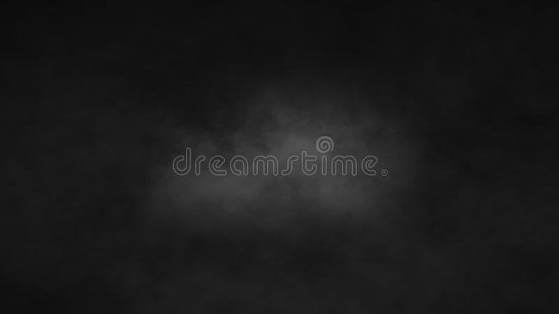 Atmospheric Smoke, Fog, cloud, smooth Movement, Modern abstract background animation 3d render.  royalty free illustration