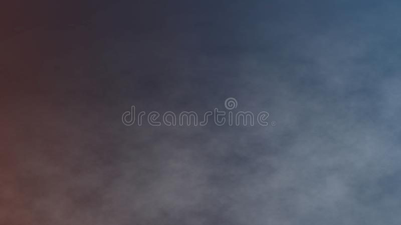 Atmospheric Smoke, Fog, Fire, smooth Movement, Modern abstract background animation 3d render.  stock illustration