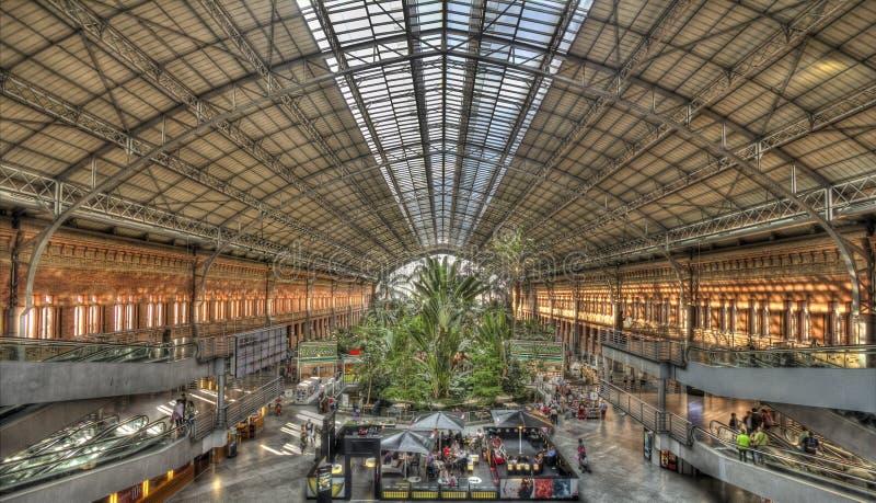 Atochastation Madrid, Spanje royalty-vrije stock fotografie
