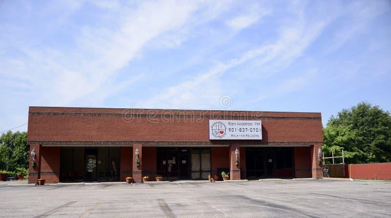 Atoka Idaville家庭健康医疗中心 免版税库存图片