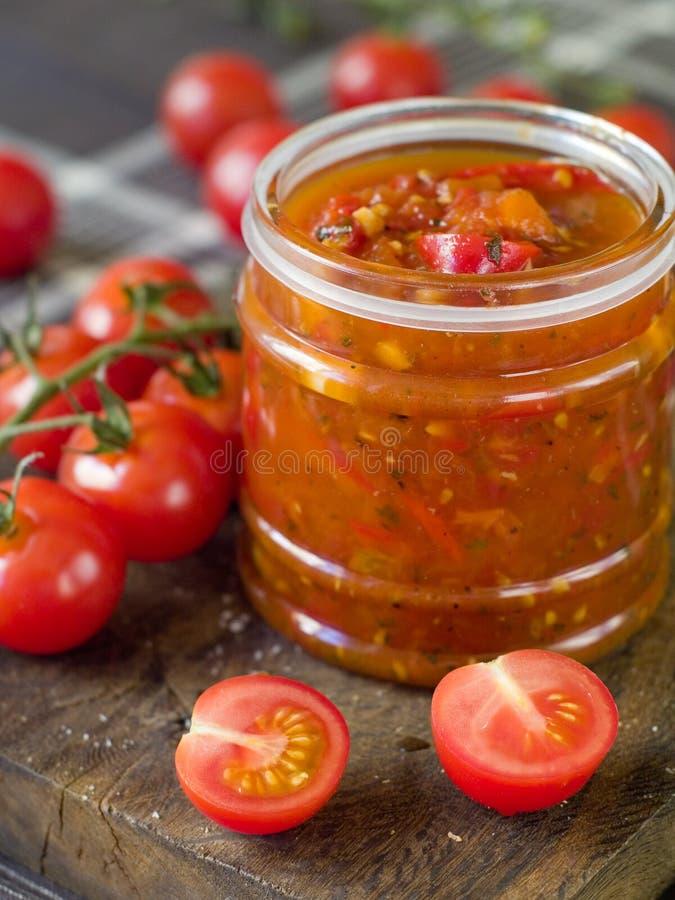 Atolamento do tomate imagem de stock royalty free