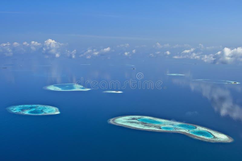 atole Maldives obrazy stock