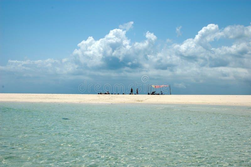 Atoll de Zanzibar fotografia de stock royalty free