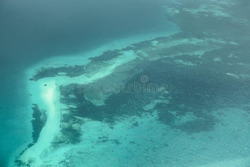 Atoll em Zanzibar imagem de stock royalty free