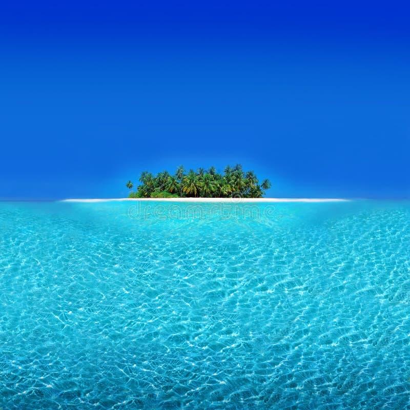 Atoll Holiday Resort royalty free stock photography