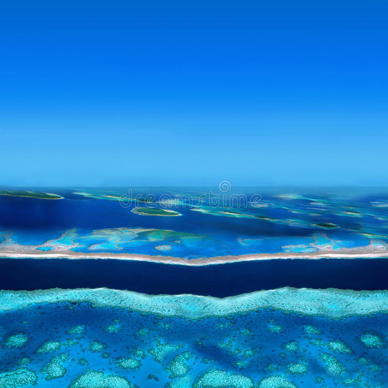 Atoll Islands stock images