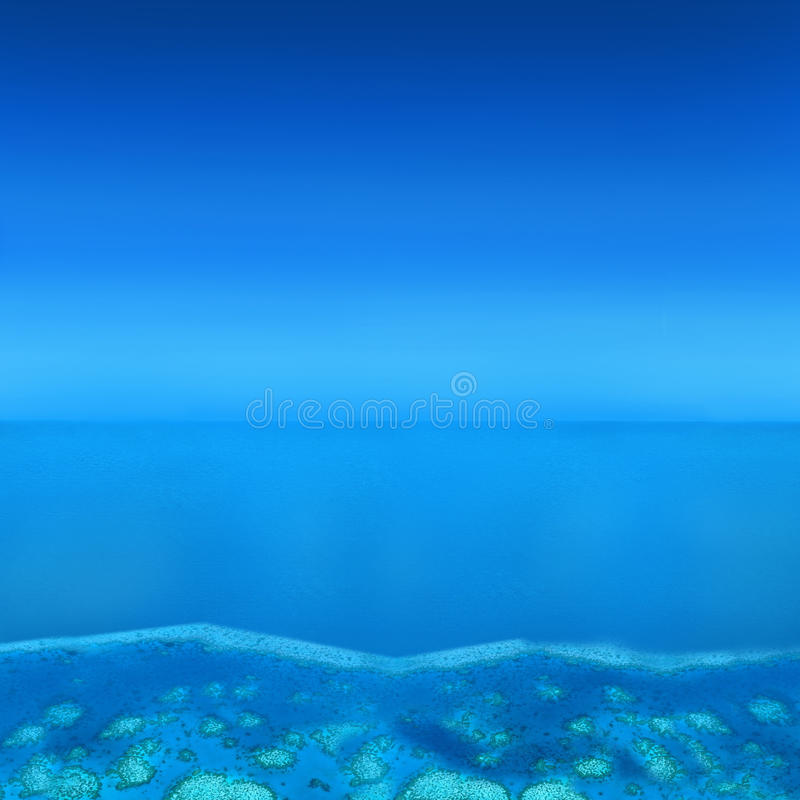 Atoll Islands stock photography
