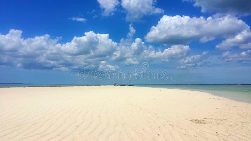 Atollo a Zanzibar royalty free stock image