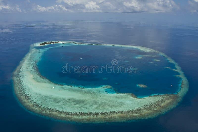 Atolls de Maldives fotos de stock royalty free