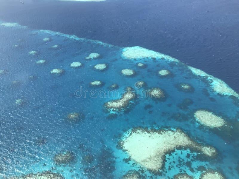 Atolls of the Maldives stock photography