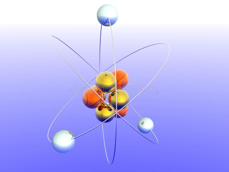 Atom stock abbildung