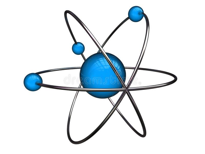 Download Atom stock illustration. Image of molecule, hydrogen - 12876671
