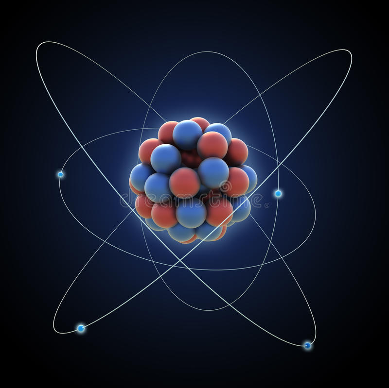 Atom vector illustration