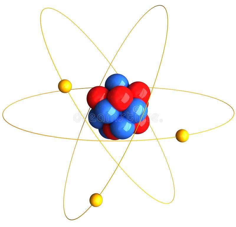 Atom lizenzfreie abbildung