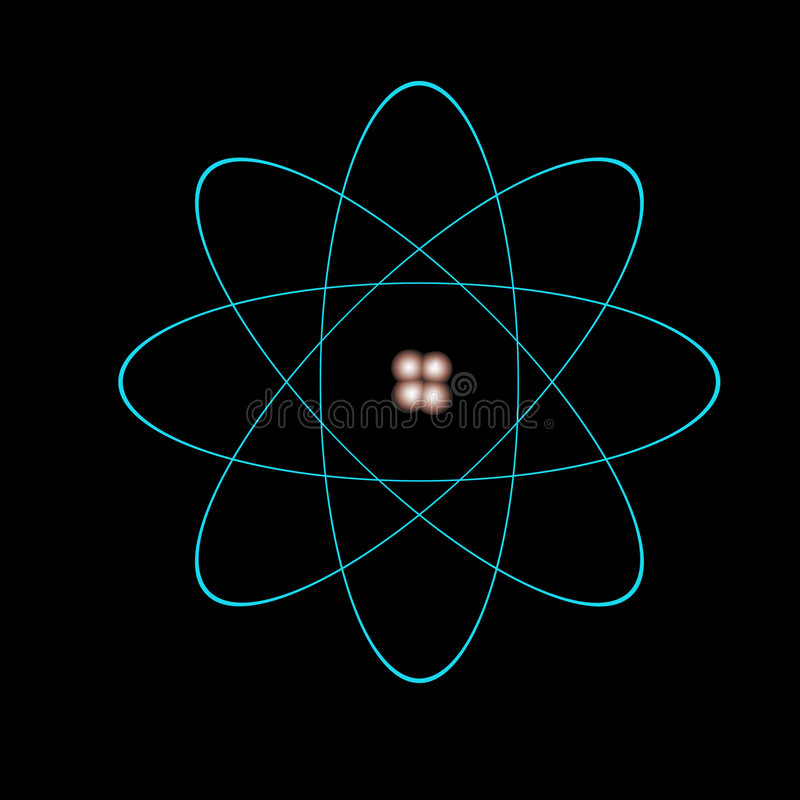 atom. royalty ilustracja
