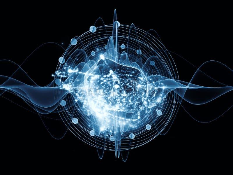 Atom ilustracji