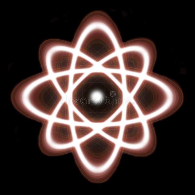 atom royaltyfri foto