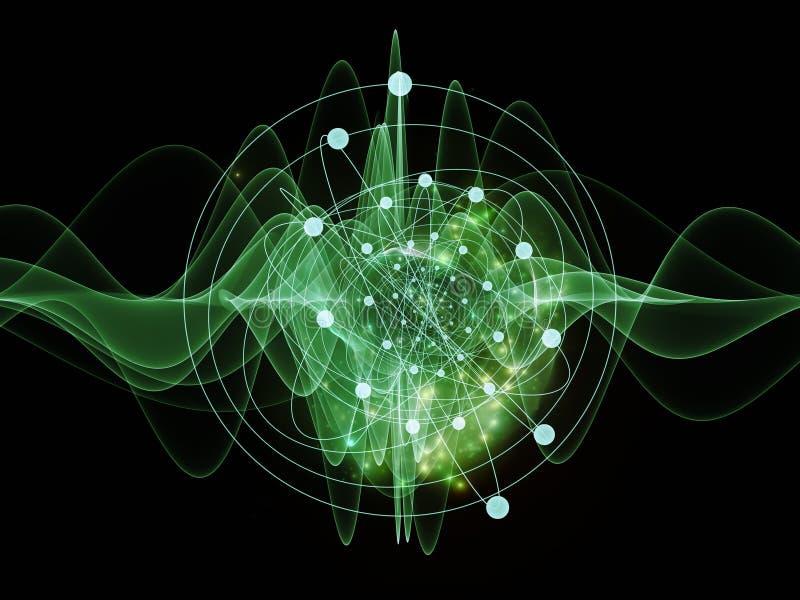 Atom royaltyfri illustrationer