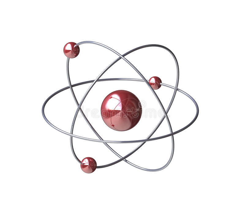 Atom stock illustration