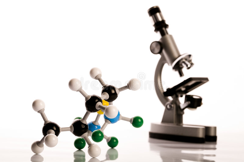 atom biochemie obrazy royalty free