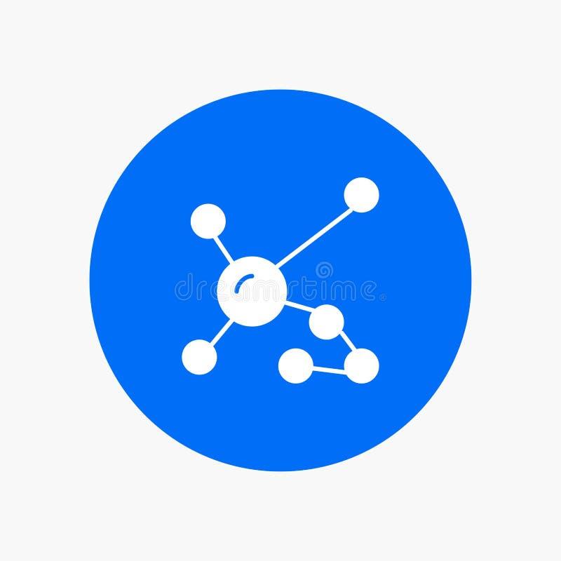Atom biokemi, biologi, Dna som är genetisk stock illustrationer
