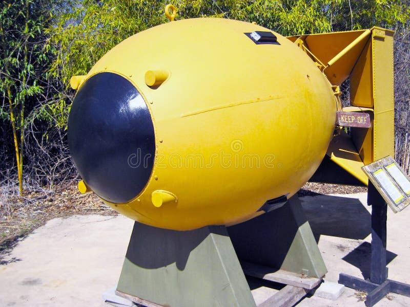 Atom Bomb stock afbeelding