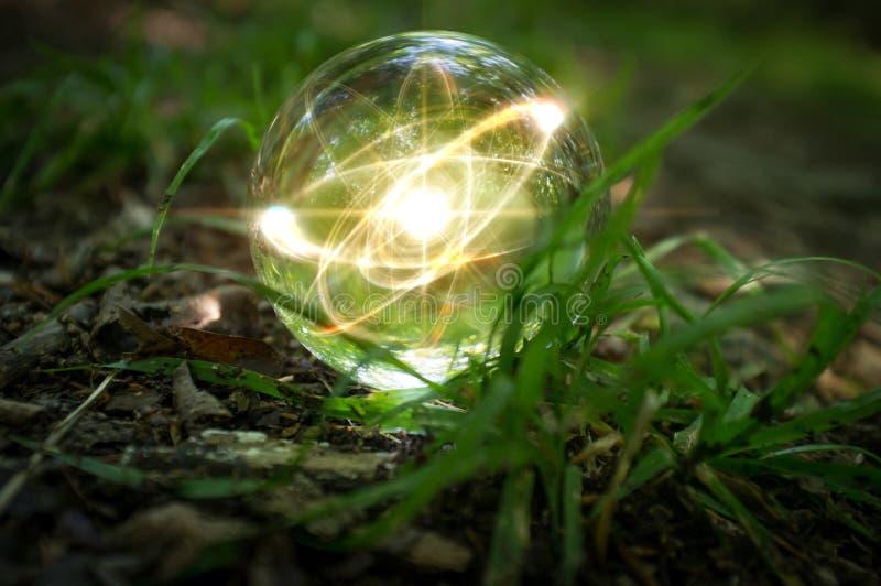 Atom Crystal Ball Nature imágenes de archivo libres de regalías