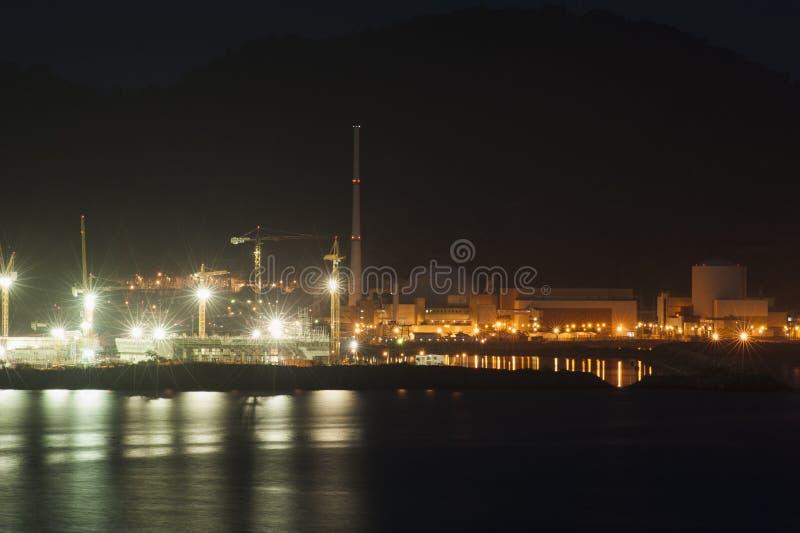 Atom- kraftverk - Brasilien royaltyfria foton