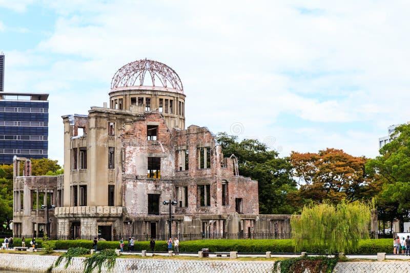 Atombomben dome1 fotografering för bildbyråer