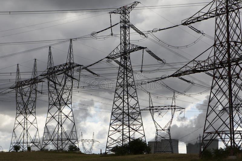 Atomenergie lizenzfreie stockfotos