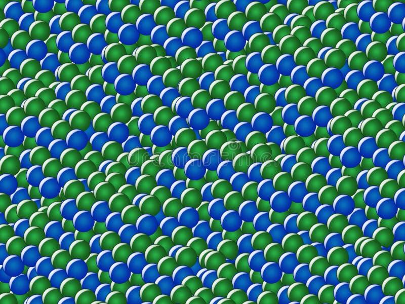 Atomes illustration libre de droits