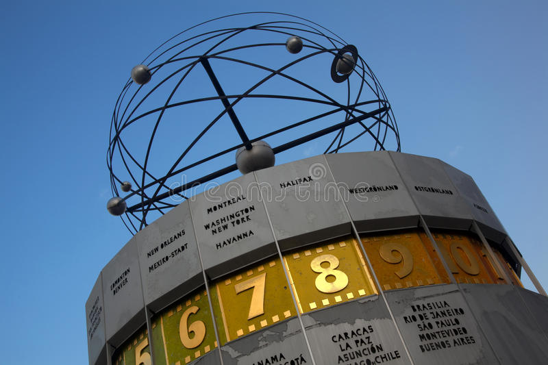 Download Atomic Clock, Alexanderplatz, Berlin Stock Photo - Image: 14557858