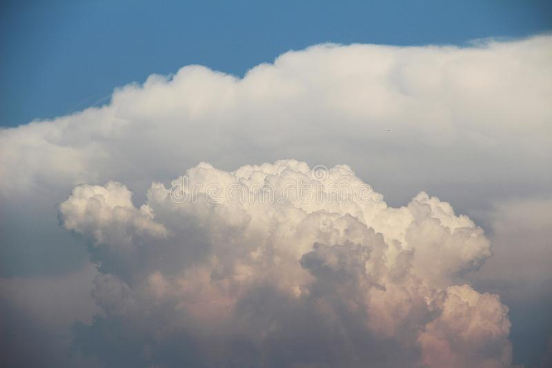 Atomic cloud royalty free stock images