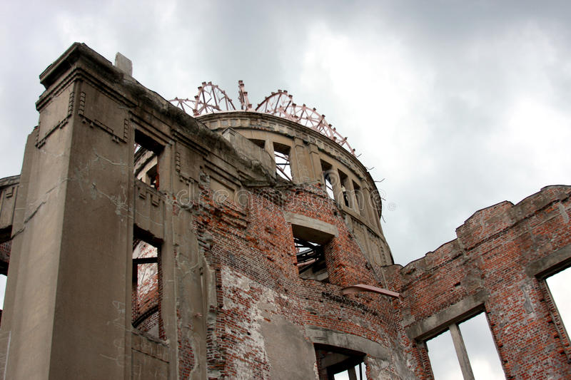Download Atomic dome hiroshima stock photo. Image of destruction - 28637564