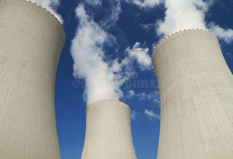 Atomic power station royalty free stock image