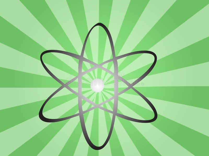 Download Atomic symbol stock vector. Image of atomic, environmental - 7347305