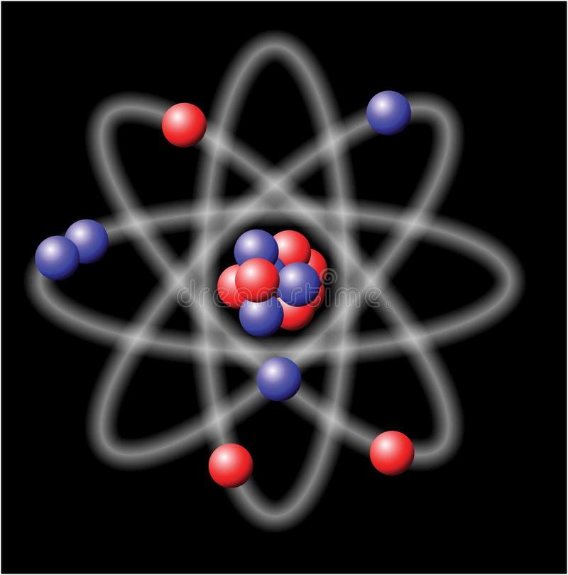 atomillustrationvektor vektor illustrationer