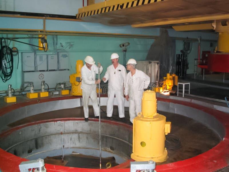 Atomkraftwerk Bilibino, Kraftwerk nahe Stadt von Bilibino in Chukotka stockbilder