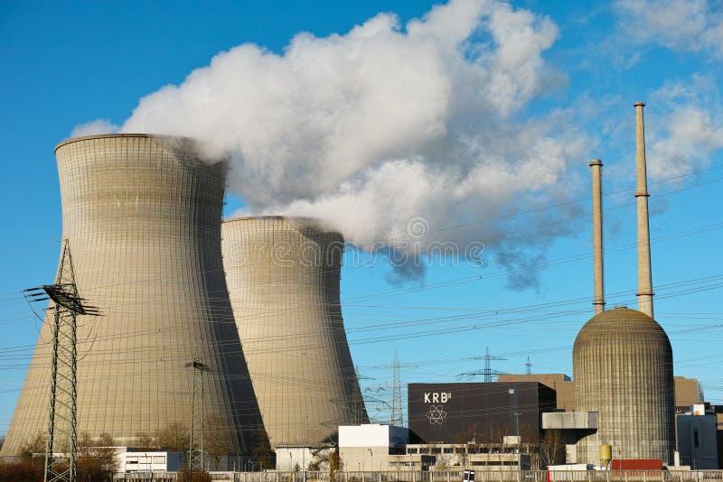 Atomkraftwerk Gundremmingen lizenzfreie stockfotografie